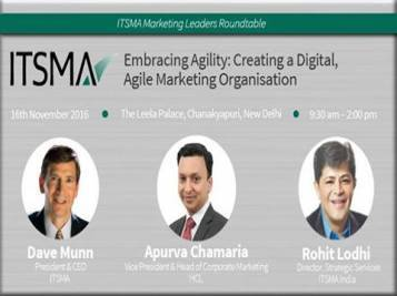 Speaking at #ITSMA Marketing Leaders Round-table